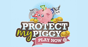 protect my piggy game